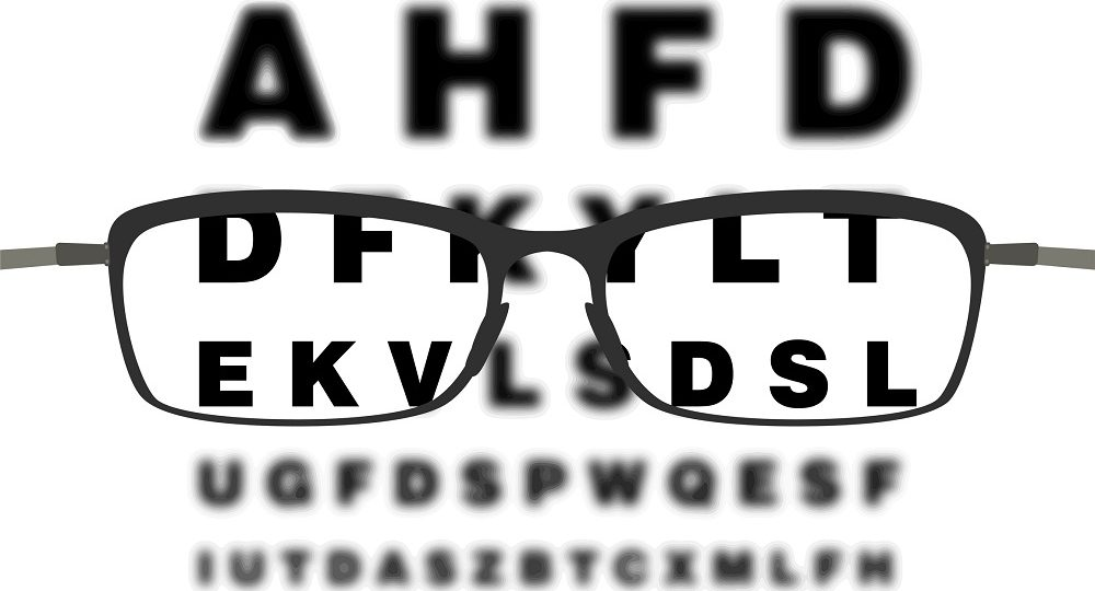 tablica u okulisty